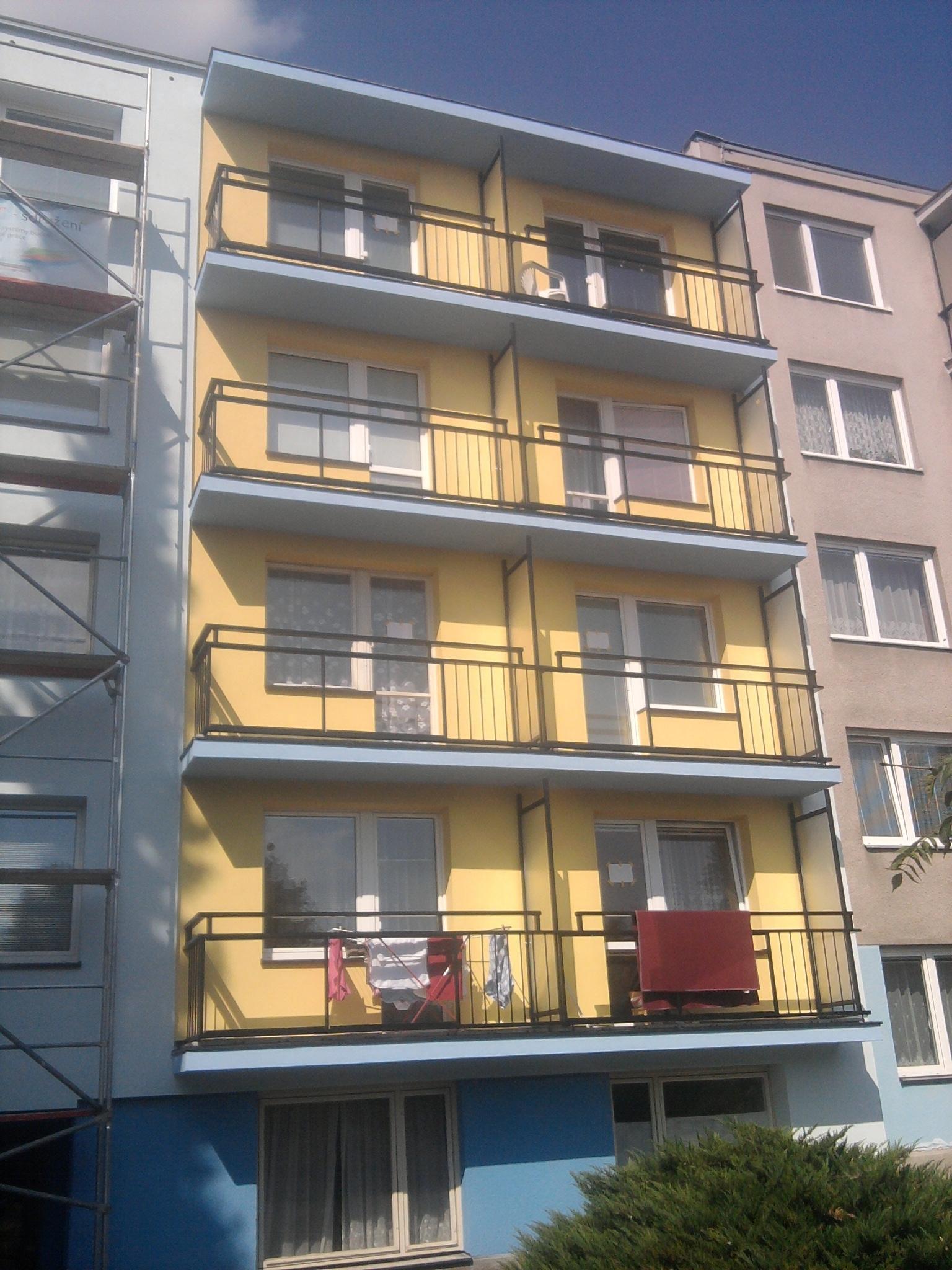 balkony potom