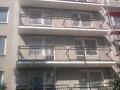 balkony před